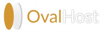 OvalHost logo